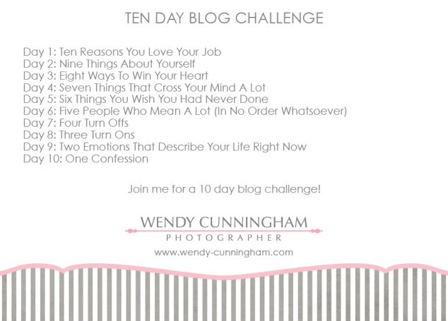 10 day blog challenge