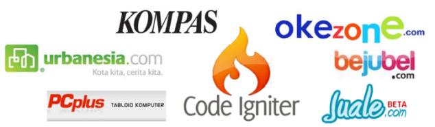 Web-web Indonesia yang menggunakan Codeigniter